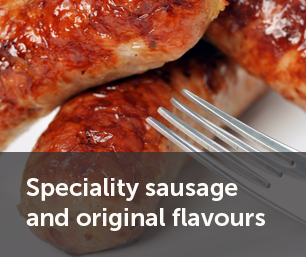 Speciality sausage