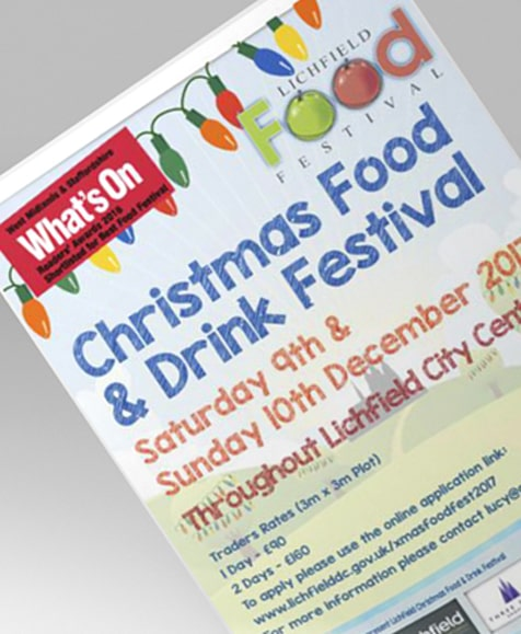 Lichfield Food Festival - 9th & 10th December